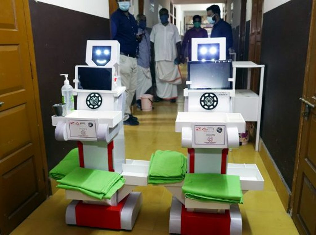 robot for covid patients