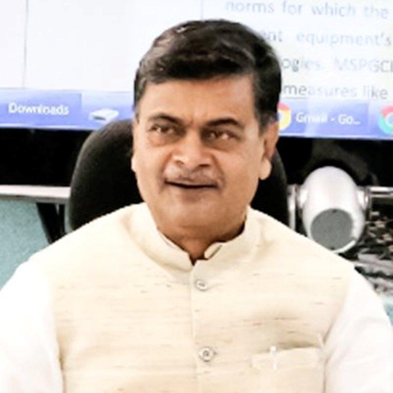 R.K.Singh,MOS,Skill Development&Entrepreneurship