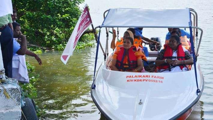 Tour at vembanad lake