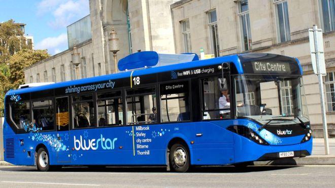 air purifying bus