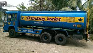 water drinking lorry