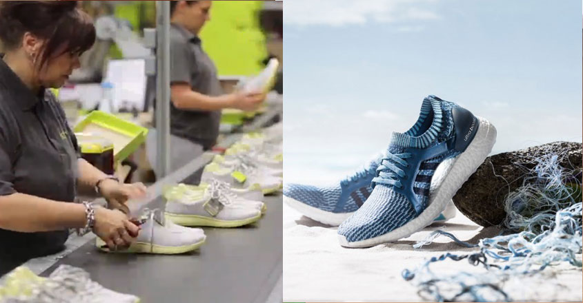 Ecofriendly shoes from adidas