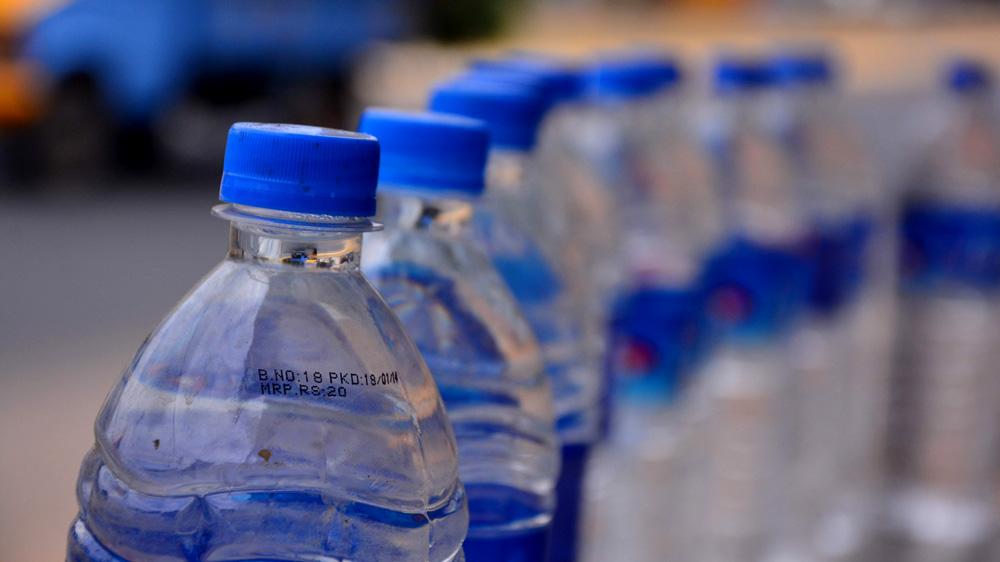 bottles water