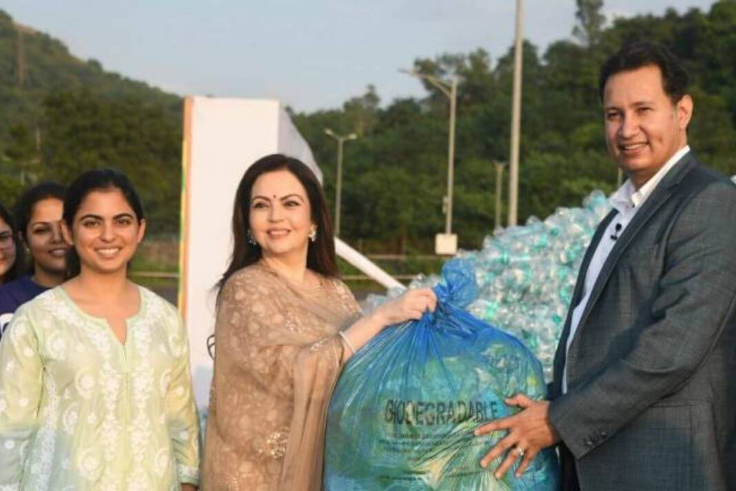 Recycled waste by Reliance