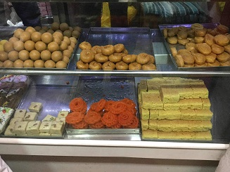 sweets in bakery